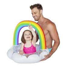 <b>Круг надувной</b> детский <b>BigMouth Rainbow</b> в Чите