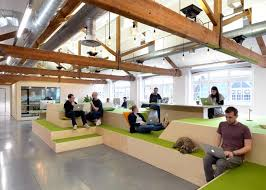 airbnbs new offices in londons clerkenwell illustrate a move towards domestication of the workplace amusing create design office space
