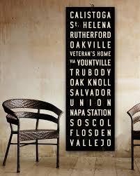 word art kitchen sign x napa valley subway art california wall art subway sign wine country gi