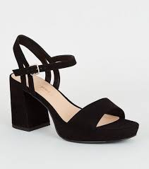 <b>Chunky Heels</b> | <b>Chunky Heel</b> Shoes & Sandals | New Look