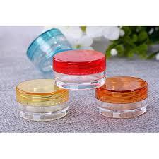 <b>10Pcs</b>/<b>Set</b> 5g Transparent <b>Plastic</b> Cosmetic Empty Jar Pot Box <b>Nail</b> ...