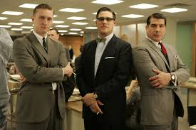 mad men film history the red list aaron staton as ken cosgrove bryan batt as salvatore r o and rich sommer as henry