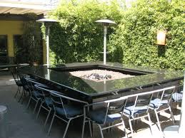 granite fire table patio furniture hexagon pit  images about fire pit table on pinterest fire pits fire pit table and