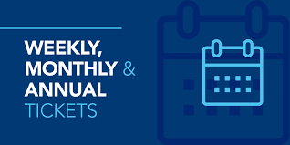 Weekly, monthly, and annual tickets - Bluestar