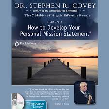 hear how to develop your personal mission statement audiobook by extended audio sample how to develop your personal mission statement by stephen r covey
