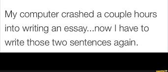 essay ifunny computer acircmiddot crash acircmiddot essay