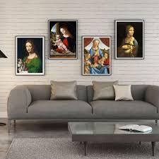 <b>Leonardo</b> da Vinci Madonna Litta Canvas print Wall Painting Poster ...