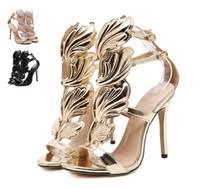 <b>Gold</b> Heels Wedding Shoe