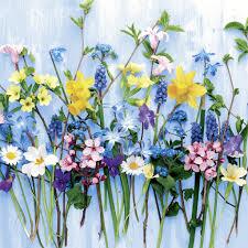 <b>Салфетки</b> 24х24 см - Spring <b>flowers Салфетки</b> Виммел