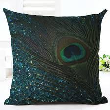 Интернет-магазин <b>Nordic Подушка</b> с рисунком павлина Чехол ...