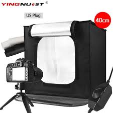 trumagine 80 80cm photo studio softbox light tent lightbox photography shooting box with portable bag dimmer switch