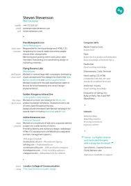 resume shine resume template shine resume