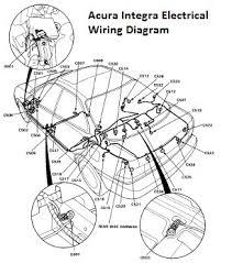acura integra electrical wiring diagram 98 01