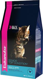 """<b>Корм сухой Eukanuba</b> """"Senior Top Condition"""" для пожилых кошек ..."""