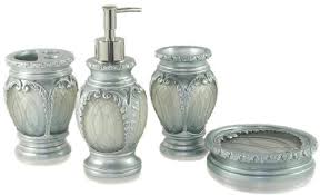 dream bath silver latern bath ensemble 4 piece bathroom accessories set luxury bath accessory bath set accessories luxury bathroom