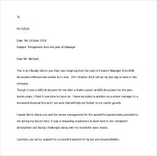 two weeks notice letter      download free documents in wordmanager resignation two weeks notice letter word free download