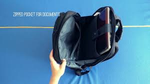 Xiaomi 17L Classic <b>Business</b> Style <b>Men</b> Laptop <b>Backpack</b> - YouTube