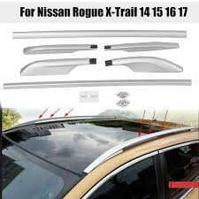 1 Set Car <b>Roof Rack Side Rails</b> Luggage Carrier Bar Roof Vertical ...