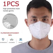 <b>10Pcs FFP2</b> 3D Filters Half Face Dust Gas <b>Mask Respirator</b> Safety ...