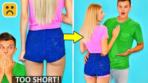 10 <b>Girl Fashion</b> Hacks and <b>Cool</b> Summer Outfit DIY - YouTube