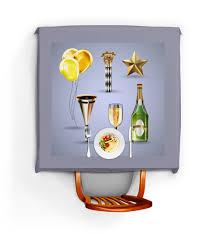 <b>Скатерть квадратная Новогодняя</b> вечеринка #2330265 от Sheriff