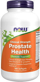 NOW Supplements, Prostate Health, Clinical Strength ... - Amazon.com
