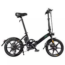 <b>FIIDO D3S Folding Moped</b> Electric Bike – 3KBlue