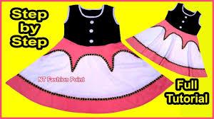 DIY <b>Baby Girls Summer</b> Dress | <b>2019</b> New Kids Cotton Baby Frock ...