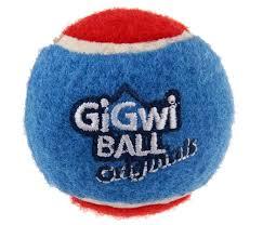 <b>Игрушка</b> для собак <b>GiGwi Ball</b> Originals 3 мяча с пищалкой, 4 см ...