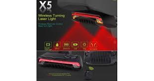 <b>MeiLan X5</b> Wireless Remote Control Smart <b>Bike</b> TailLight