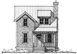 The Chechessee River Cottage House Plan  C   Design from    Combahee River Cottage sq  ft    bed   bath