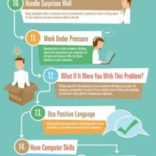 skills for excellent customer service   visual ly