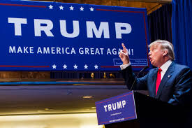 essay bad news for democrats wuwm business mogul donald trump points as he gives a speech as he announces his candidacy for