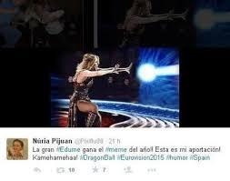 10 memes de Edurne en Eurovisión | EcoListas via Relatably.com