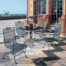 modern wrought iron patio furniture is made from a variety of cutting edge alloys that allow stronger and more attractive tables and seats attractive rod iron patio