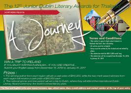 the junior dublin literary awards write a creative essay dublin brochure northern 2