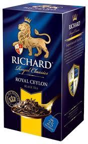 <b>Чай черный Richard Royal</b> Ceylon в пакетиках — купить по ...