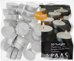 "Набор <b>свечей</b> ""<b>Spaas</b>"", диаметр 4 см, 50 шт - купить по низкой ..."