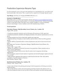 production supervisor resume example resume ideas cilook us production supervisor resume example resume ideas 205957 cilook us manufacturing supervisor manufacturing supervisor resume