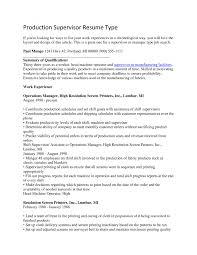 production supervisor resume example resume ideas 205957 cilook us production supervisor resume example resume ideas 205957 cilook us manufacturing supervisor manufacturing supervisor resume