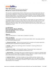 cover letter skill set resume examples examples of skill set for cover letter resume examples of skills and abilities on a resume image example imagesskill set resume