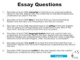 essay questions   templateessay questions