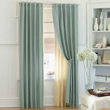 Silver Curtains For Bedroom Bedroom Curtain Ideas In Blue And Gold Themed Bedroom With Rod