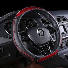 <b>KKYSYELVA D Shape</b> Steering-Wheel Black Auto Car Steering ...