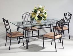 Parsons Dining Room Table Metal Dining Room Tables With Good Dining Room Steel Parsons