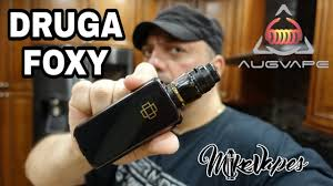 <b>DRUGA FOXY</b> 150w Quick Release 510 Mod By <b>Augvape</b> - Mike ...