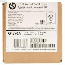 <b>HP Q1396A Бумага</b> без покрытия для плоттера матовая, рулон ...