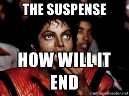 THE SUSPENSE HOW WILL IT END - Michael Jackson Popcorn eating ... via Relatably.com
