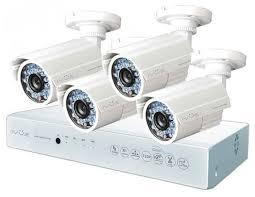 <b>Комплект видеонаблюдения IVUE</b> 1080P-AHC-B4 4 ка... — купить ...