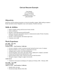 cover letter clerical clerk job duties resume clerical support sample of resume for clerical job clerical resume best template clerk job duties resume clerical duties